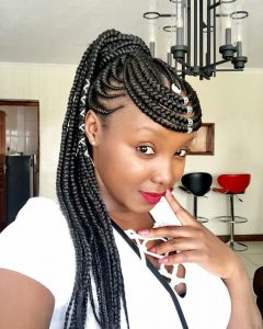 Cornrows Hairstyles That Cover Forehead African Hairstyles