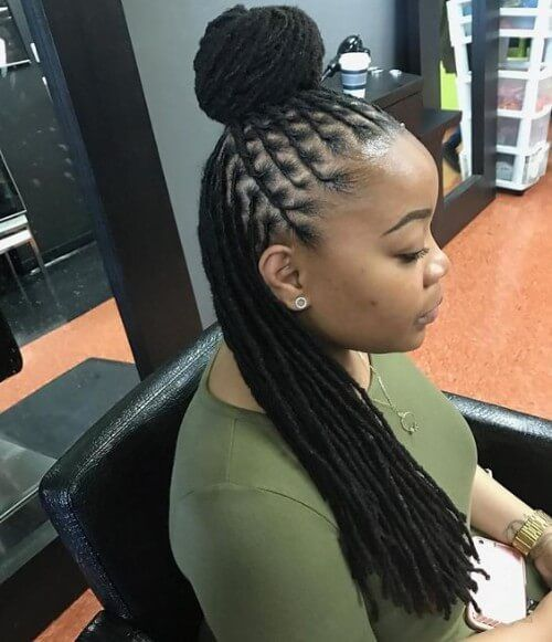 Trending Styling For Long Dreadlocks In Kenya African
