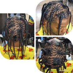 Awesome Zig Zag Weaving Hair Style African Hairstyles