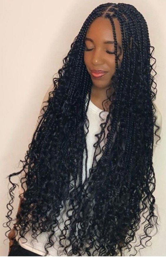 Beautiful Knotless Box Braids San Antonio African Hairstyles